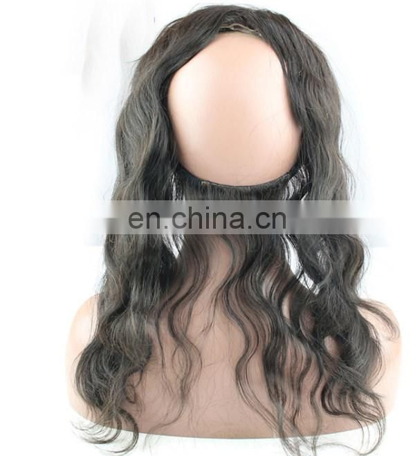 360 lace frontal with bundles 2017 new product 360 lace frontal wig