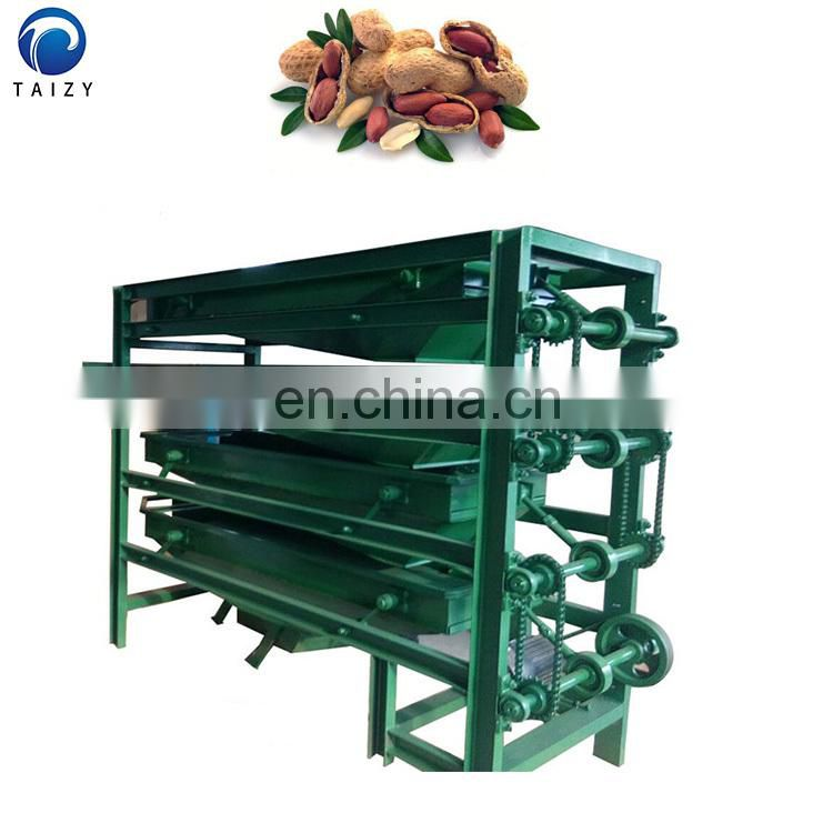 vibrating screening equipment chestnut nut peanut bean walnut sorting machine