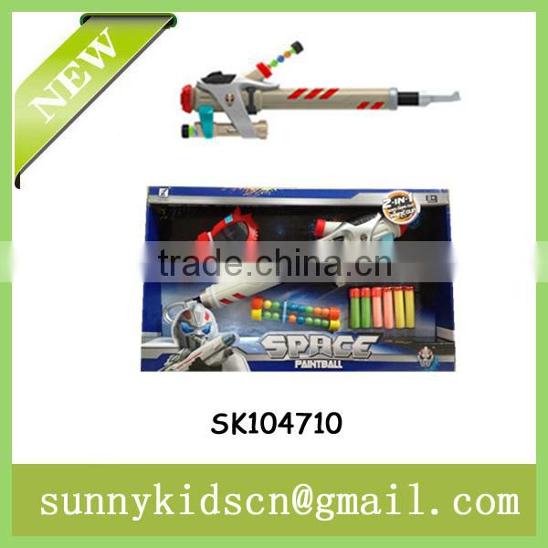 colorful soft air gun soft bullet gun toy with EN71