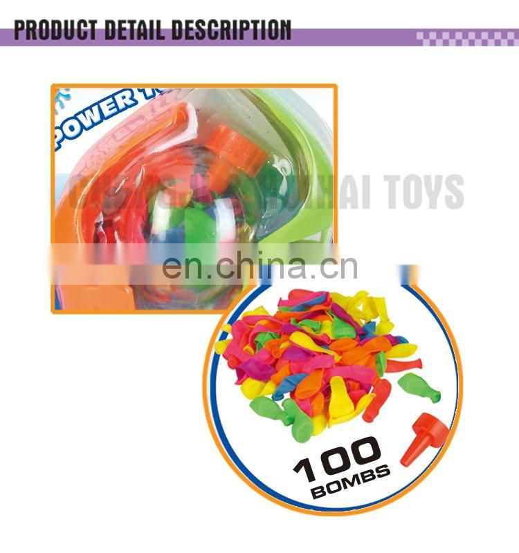 Summer fun party bomb 100 pcs magic water balloons toy ball toss game