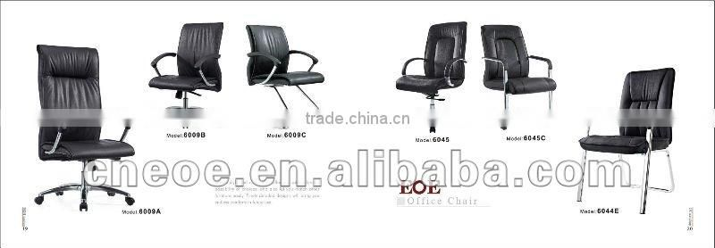 Office furniture cowhide chair 6009A