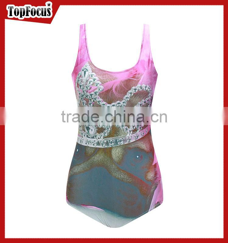 Factory wholesale 2017 transparent swimwear high waisted women sexy one piece bathing suit