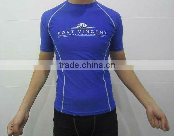 compression shirt for running / high quality compression top for men / compression shirt