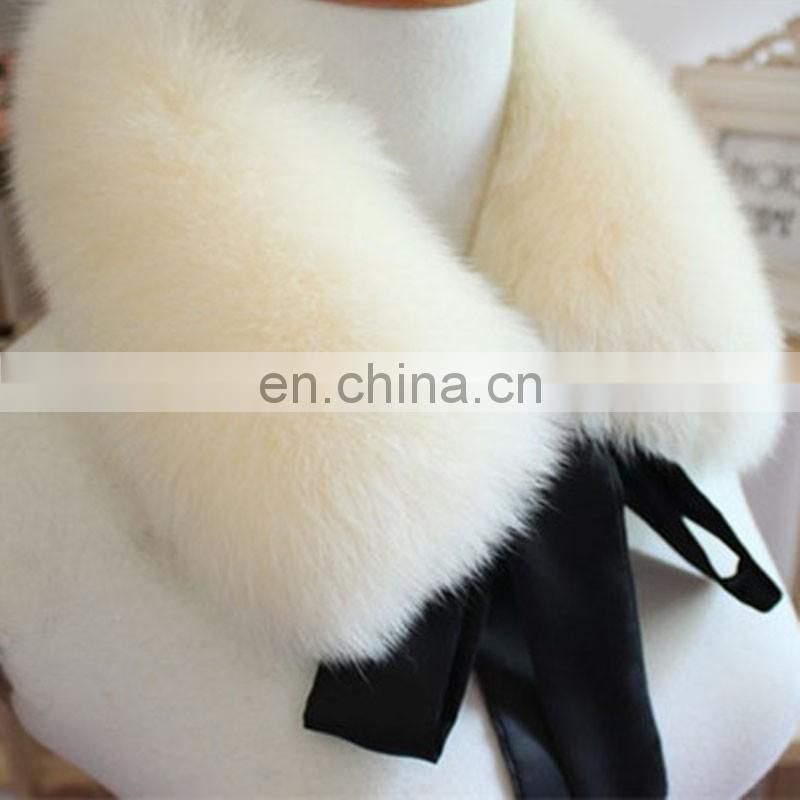 Short pattern fur scarf genuine fur collar top quality fox fur neck warmer