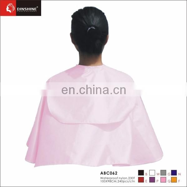 2016 hop sales Hairdressing Kimono Hair cape for Salon embroidery logo