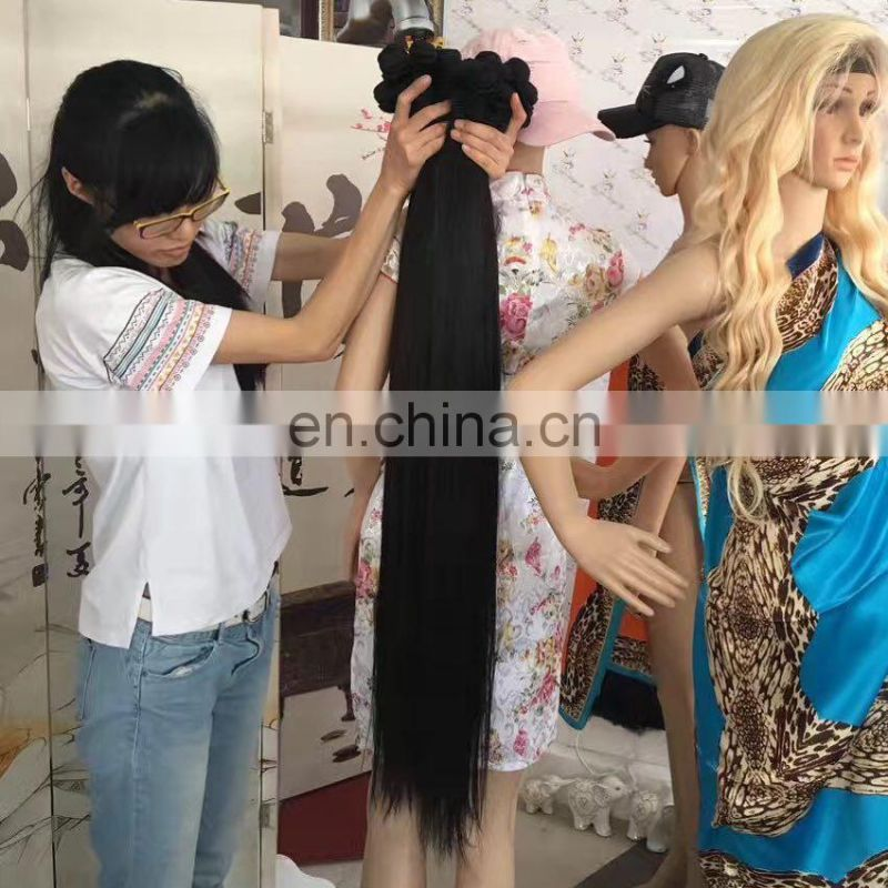High Quality Wholesale virgin human hair extension human hair 40 inch brazilian hair