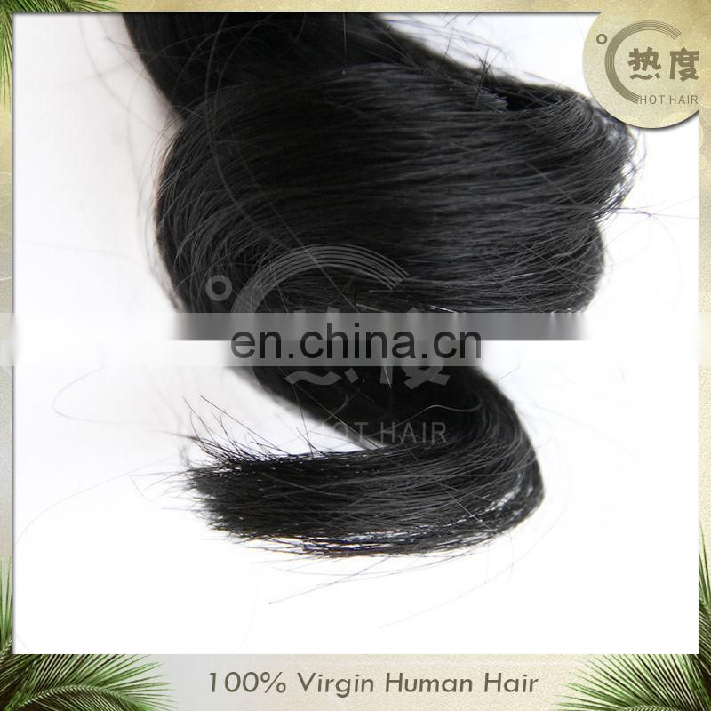 hothair product virgin peruvian remy hair loose wave curly hair