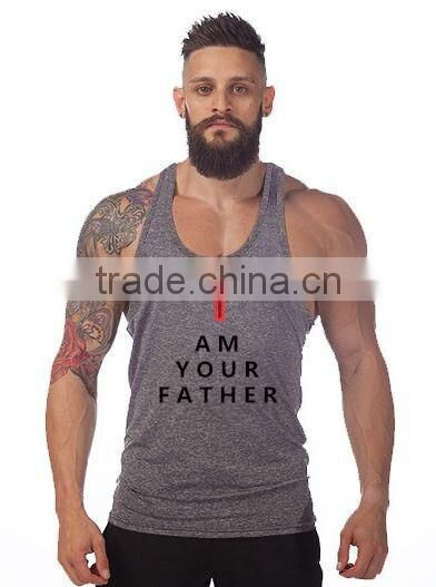 Gym Stringer Tank Top Men Bodybuilding Clothing and Fitness Mens Sleeveless Shirt Sports Vests Cotton Singlets Muscle Tops