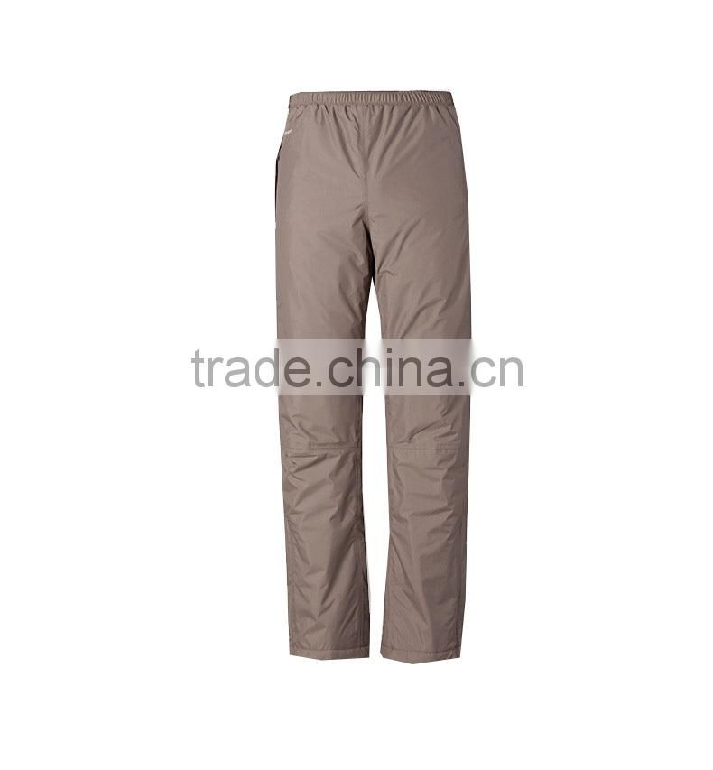 Men's Outdoor Polar Fleece Pants / Brand Waterproof Windproof Breathable Trousers / Camping Hiking Pants