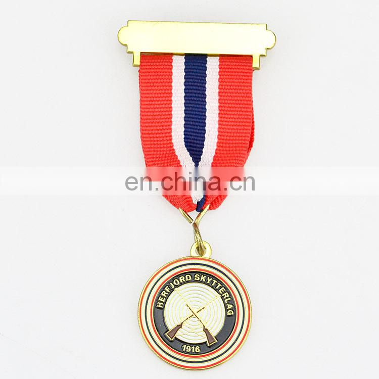 Finely processed printed fabric custom military medal ribbons