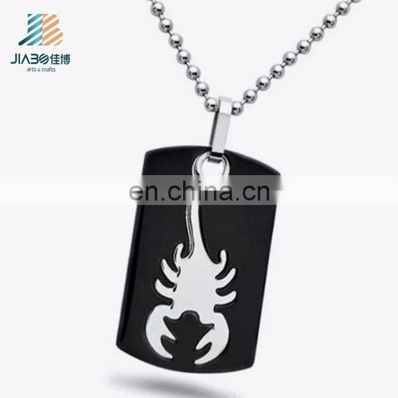 Chinese bulk manufacturer cheap design custom metal blank personalized military antique souvenir dog tag with chain