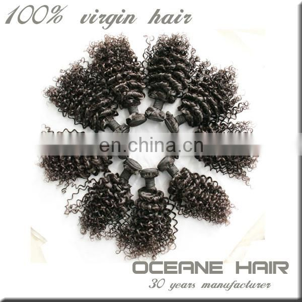 Double weft no chemical processed can dyed or bleached charming instock indian hair company