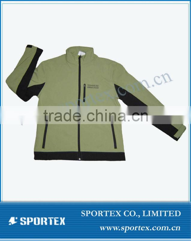 Men HoodedWindstopper SoftShell Jacket/Ourdoor Sportswear/Softshell clothing