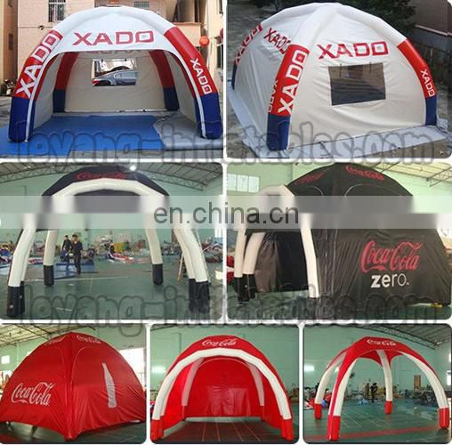 4x4m Inflatable spray booth workshop shelter tent, mobile portable inflatable bar tent pub for home party
