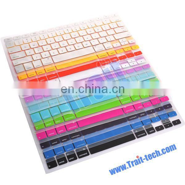 "Soft Silicone Keyboard Cover Protector For Apple Macbook Air and Pro 13 "" ,15"", 17"""