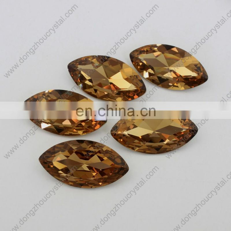 Various Sizes Colors Mariquesa horse eye Crystal Fancy Glass Stone Garment Decoration Jewelry Bead Chaton rhinestone