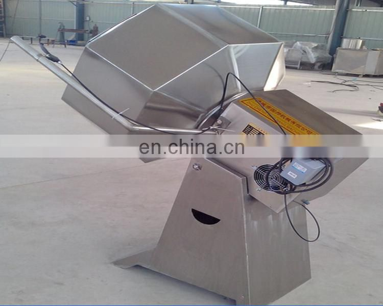 Octagon potato chips seasoning machine With Stainless Steel Special new products flavoring machine