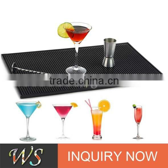 WS-MA1 Colored Rubber Serving Bar Mat with Customized Logo