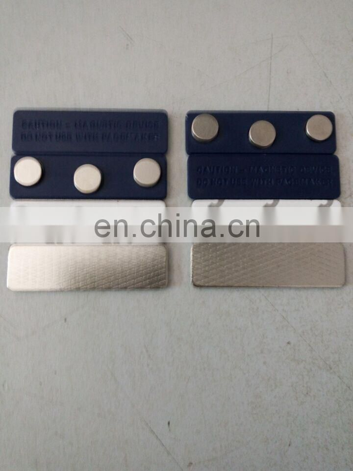 magnetic name badge fasteners manufactured in China