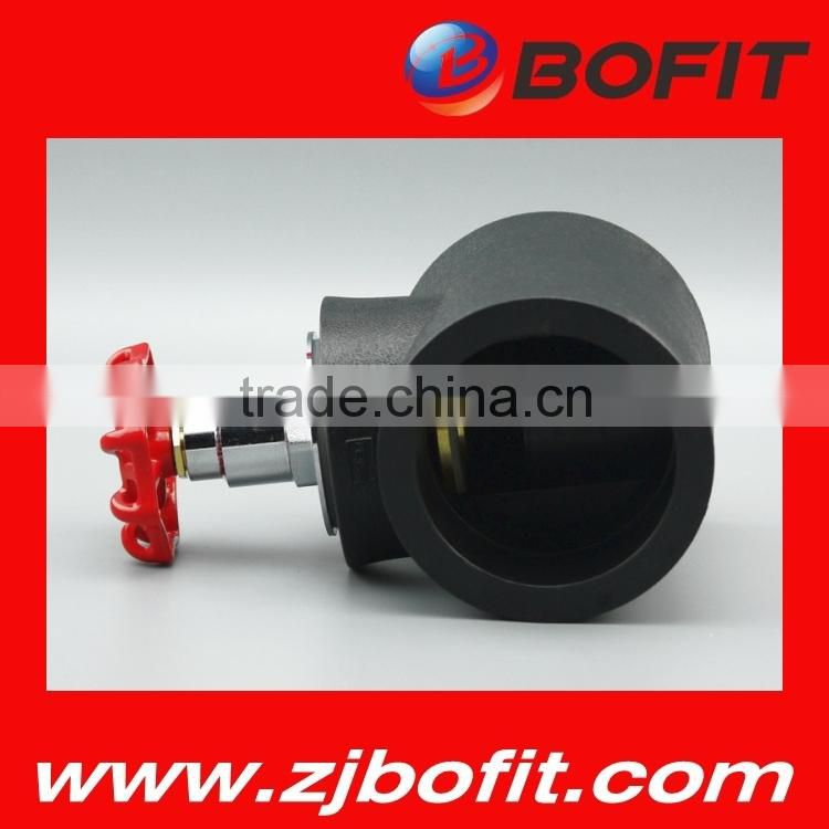 wholesale pe fitting ball valve environment protecting material Image