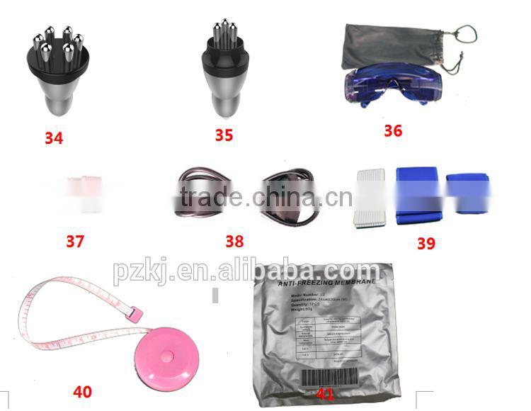 RF Vacuum Slimming Cavitation Cryo Ultrasound Cavi Wrinkle