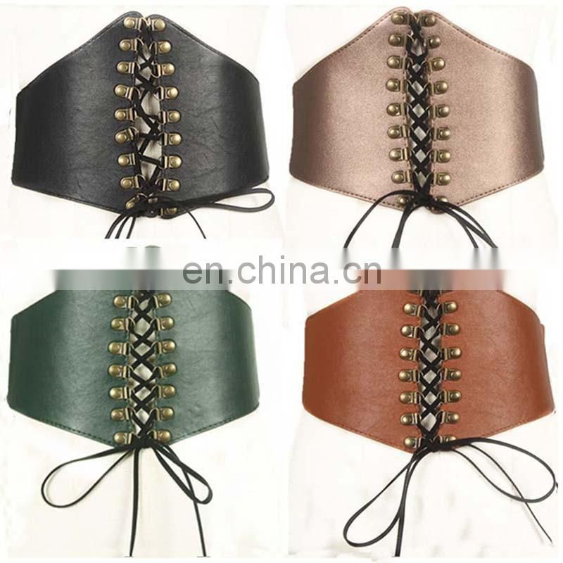 factory wholesale newest fashion woman ladies thin tie belt