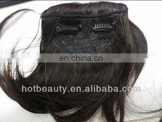 Virgin Remy Hairpiece Fringe Hair Bangs