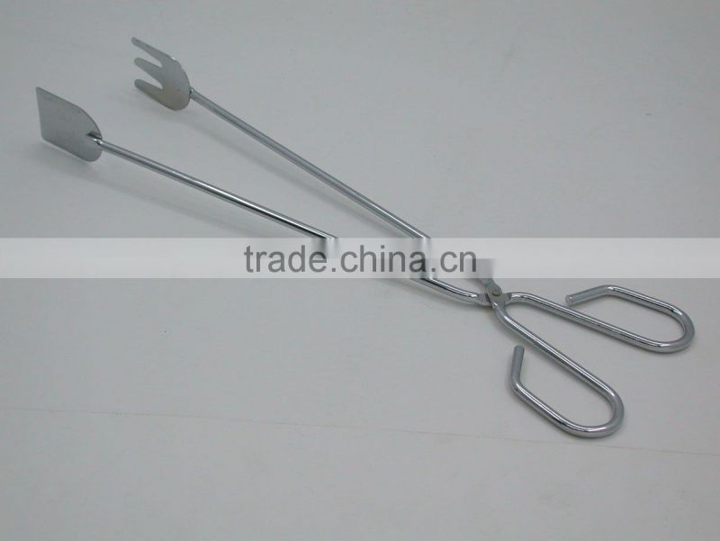 OASIS Food tong with stainless steel or iron with chrome plate