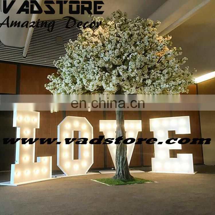 customerized artificial cherry blossom tree outdoor indoor ficus tree wedding event decor