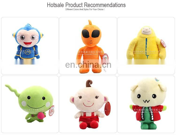 Sedex audit plush factory soft cartoon doll toy