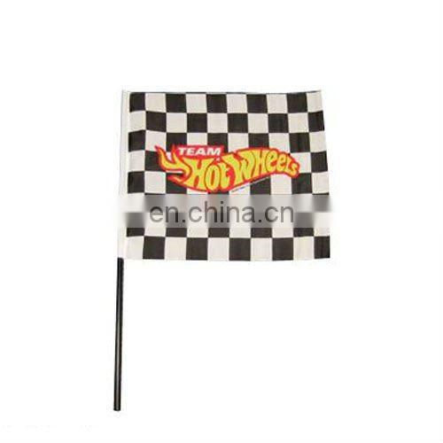 Decorative 100% Polyester Custom Hand flag