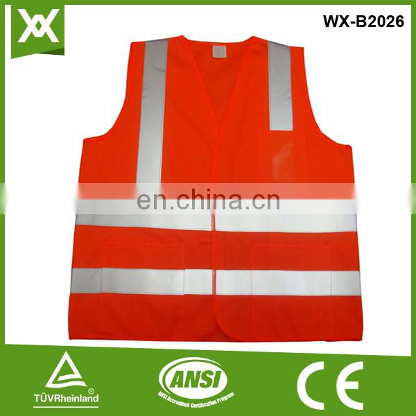factory / suppliers polyester fabric class2 tape made fluo tape hi vis vest