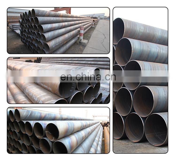 Q235 welded ms spiral steel pipe, api 5l carbon steel pipe price per ton, astm a105 carbon steel pipe for water oil and gas