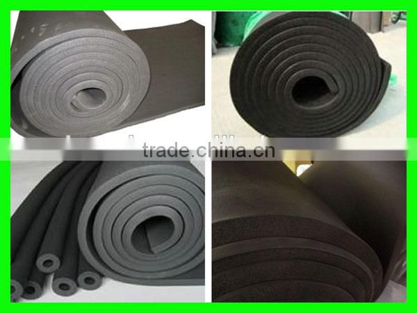 elastomeric fireproof rubber foam insulation duct sheet of