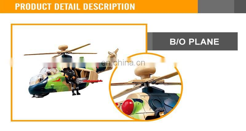 Electric universal elevations battery operated airplane toy with light music