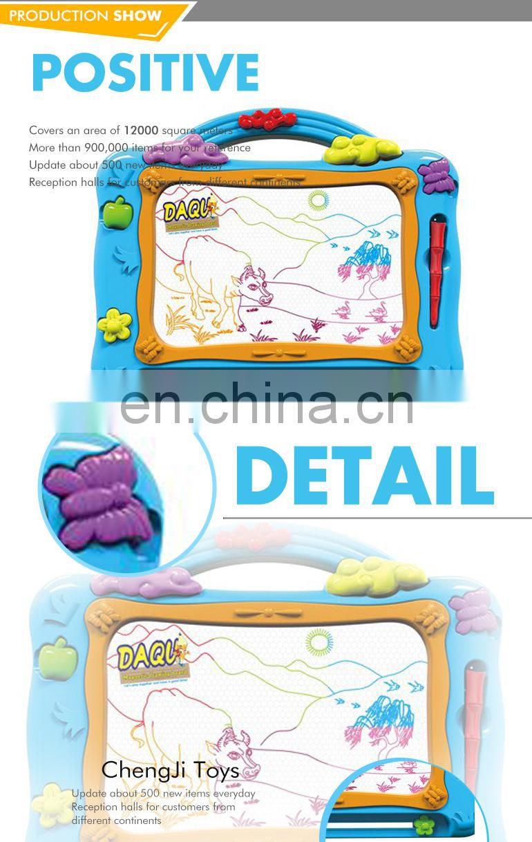 Hot sales education toys kids funny plastic drawing board