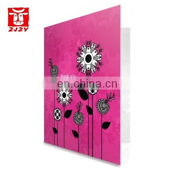 Hot sale 123 greeting cards(ZY19-3118)