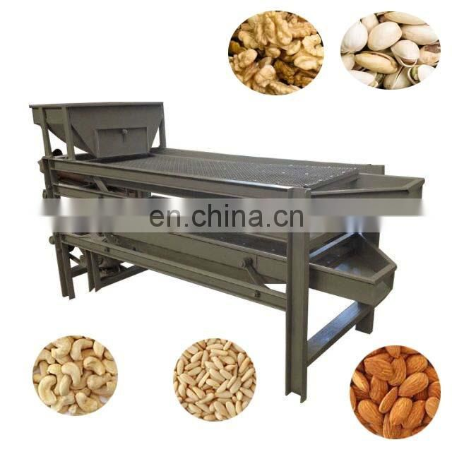 automatic nut cracker jujube hazelnut production line almond processing line almond cracking machine