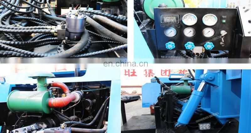 Nice quality hydraulic press solar pile driver for excavator