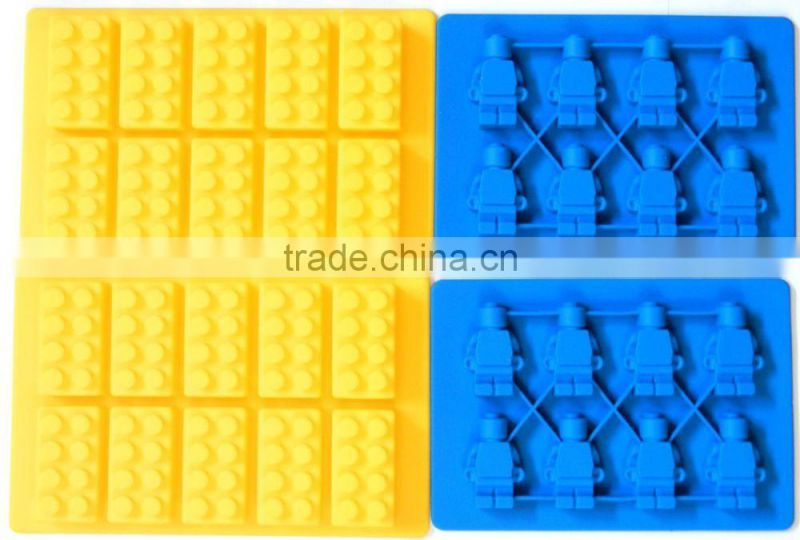 New Hottest sale!!! High quality silicone lego ice cube tray mold,lego brick ice cube tray bpa free,lego silicon ice tray