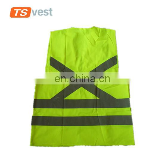 EN ISO 20471 standard size can be customized safety vest