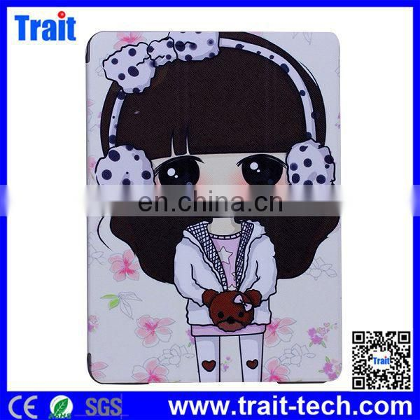 Cute Xiaoxi Pattern Smart Stand Leather Case for iPad Air,For ipad Air Case