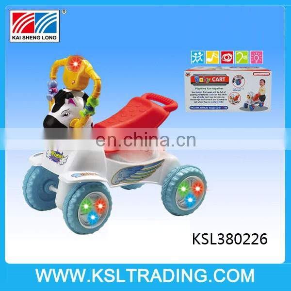 Best design lovely horse big baby walker for children