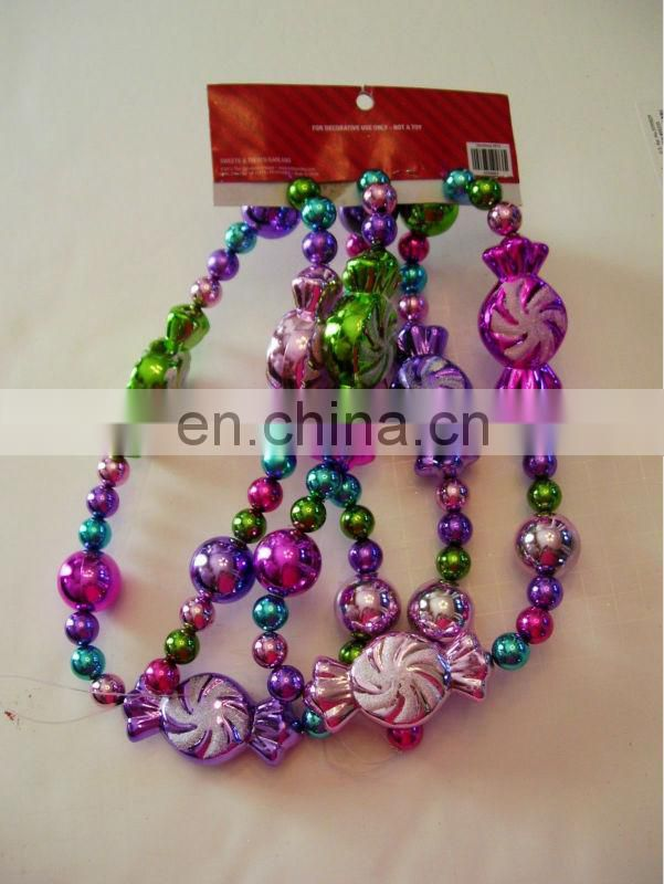 BEADS MULTI COLOR GARLAND CHRISTMAS DECORATION