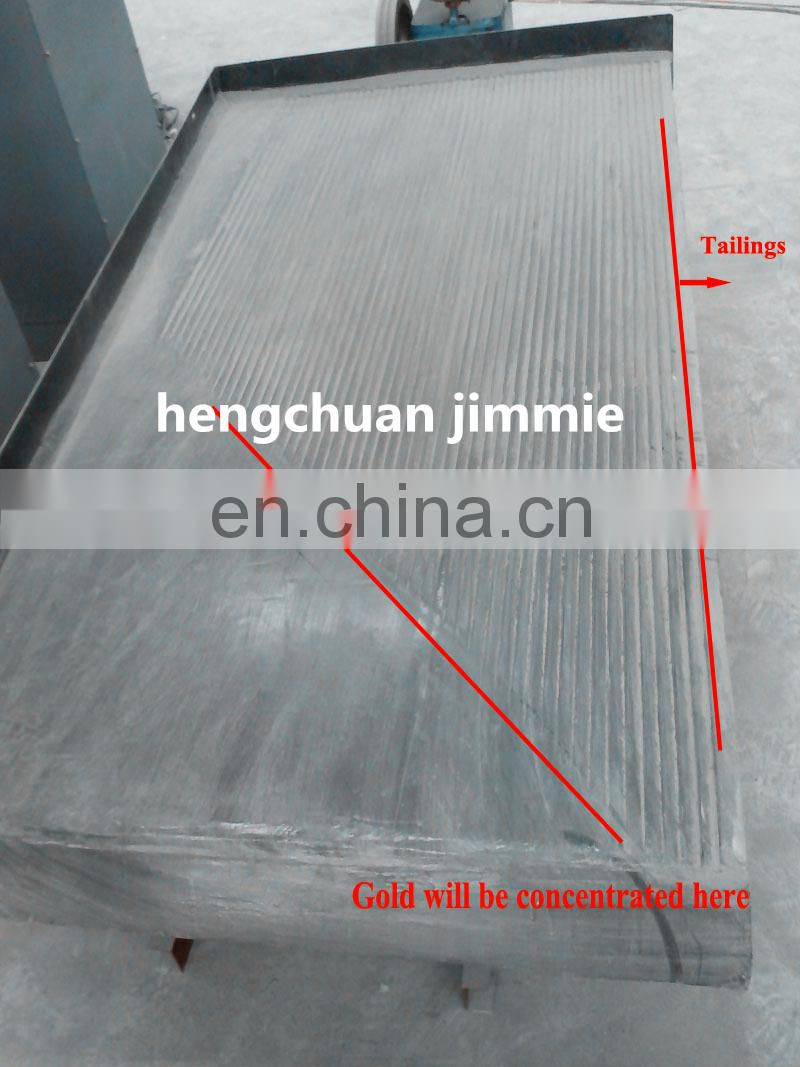 High quality 6-s shaking table for gold mining
