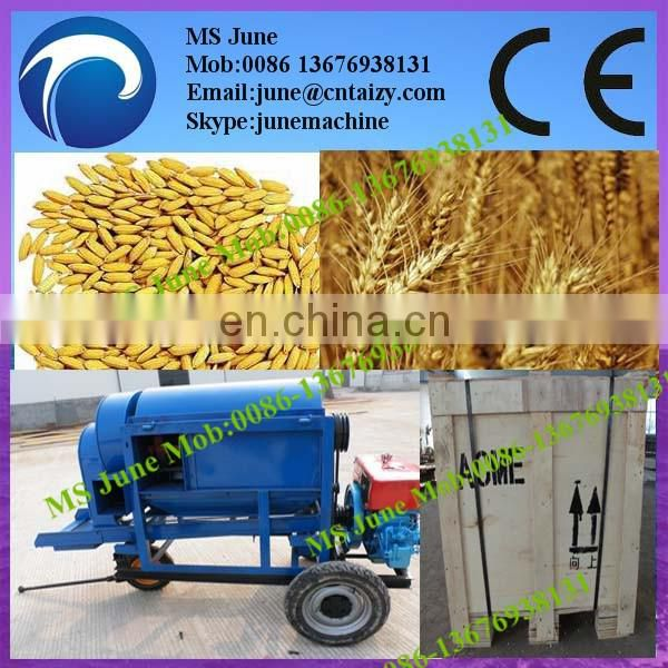 Good performance mini thresher for wheat threshing machine 008613676938131 Image