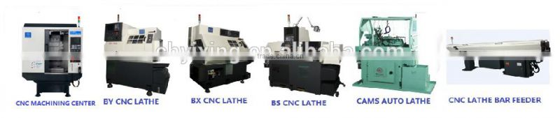 Headman Shanghai manufacturer GD408 small light Mecanical Cnc Lathe bar feeder