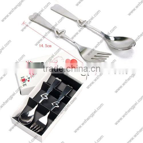 Custom Bridal Wedding Gift Box couple fork spoon small gift creative gifts tableware