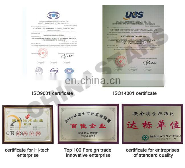 AS/NZS certified silver reflective tape