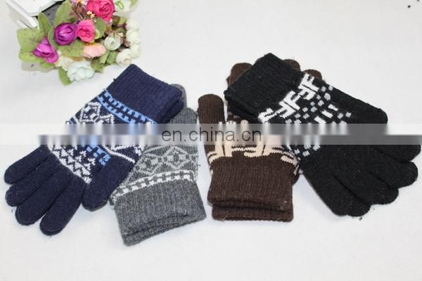 knitted animal pattern mittens gloves 2014